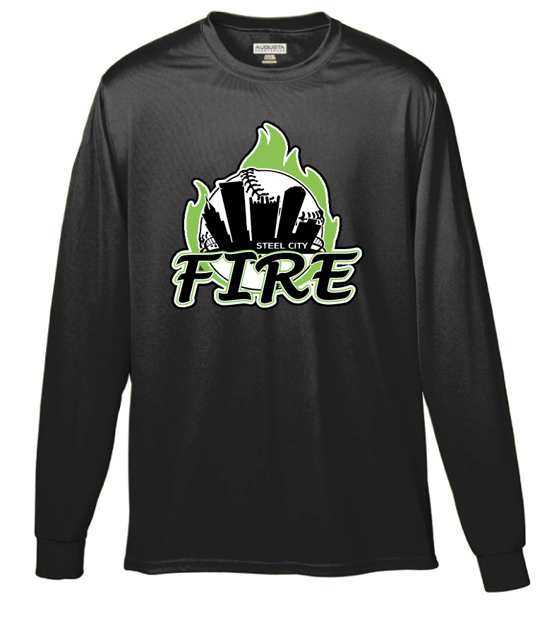 96bfe9737ac Augusta Sportswear - Performance Long Sleeve T-Shirt - Steel City Fire